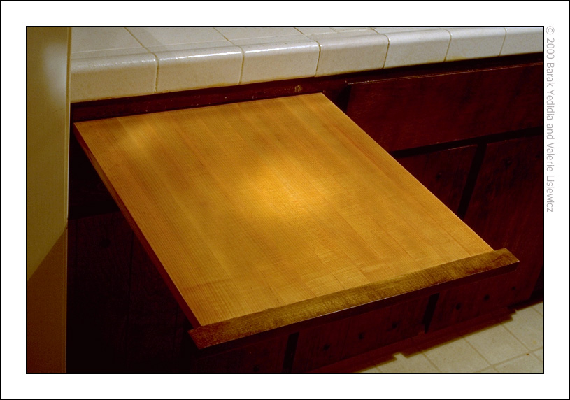 Top Pull Out Cutting Board YS09